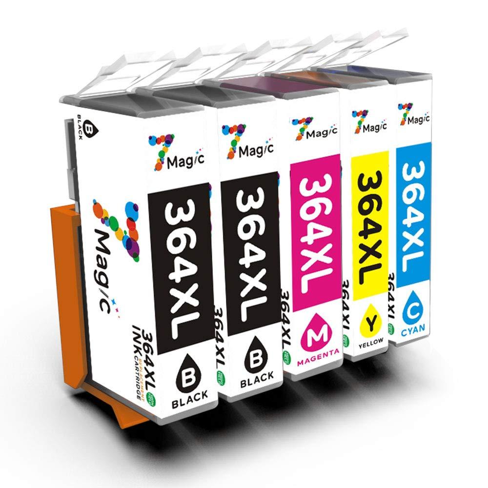 364XL 7Magic Cartucho de tinta compatible para HP 364XL para HP ...