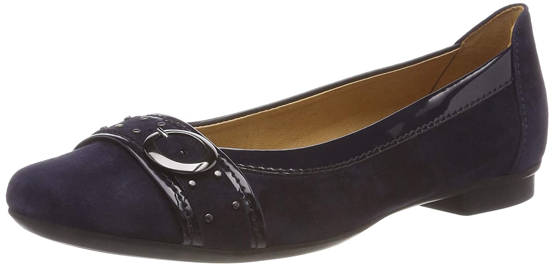 Gabor Shoes Gabor (Atlantik/Ocean Casual, Ballerines Femme Bleu (Atlantik Bleu Femme/Ocean 16) 240667a - digitalweb.space
