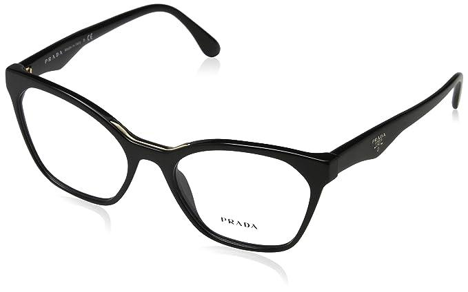 Prada 0PR 09UV Montures de lunettes, noir,