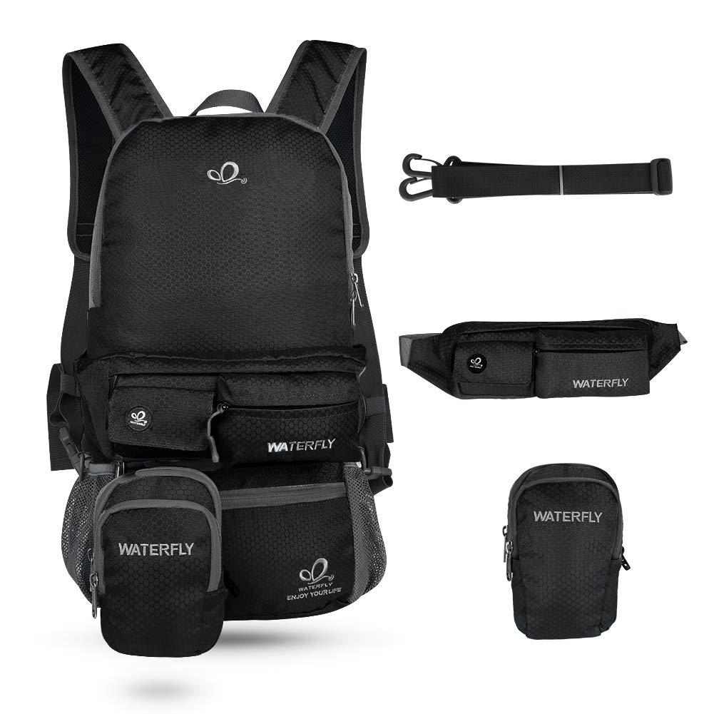 Waterfly Travel Backpacks Casual Daypacks Cute Backpacks Multi Function 3 in 1 Backpacks