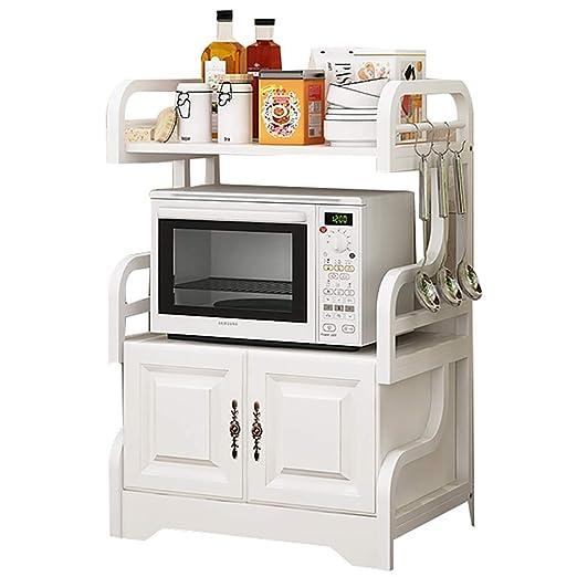 Soporte para horno de microondas de pie, gabinete de ...