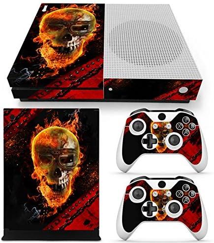 46 North Design Xbox One S Pegatinas De La Consola Skull + 2 ...
