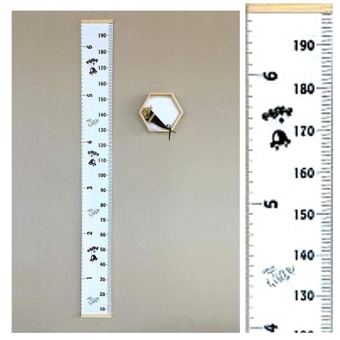 再発するメロディーボール英国製 トールテープ(Talltape) 壁掛け身長計 200cm レギュラー プラスチック製 TTLondon (ロンドン)