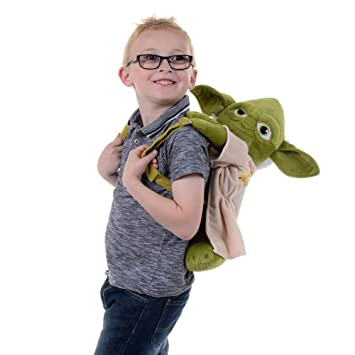 Star Wars Yoda Full Body Backpack Amazoncouk Toys Games