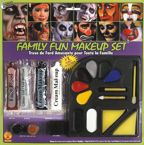 Clown Collection Costumes Makeup Kit (Rubie's Costume Family Costume Makeup Kit)