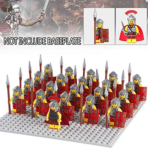 FidgetKute 21Pcs Roman Military Centurion Soldiers Minifigures Army Toys Collection Gifts