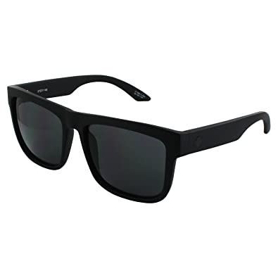 340269def2 Image Unavailable. Image not available for. Color  Spy Optic Discord  Sunglasses Soft Matte Black with Happy Grey Green Lens