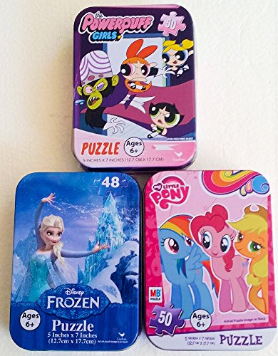 Mini Puzzles Tin Cases Collectible