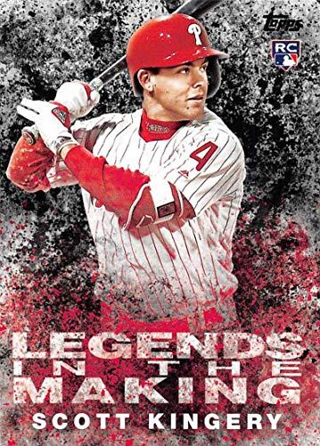 2018 Topps Update and Highlights Baseball Series Legends in the Making Black #LITM-3 Scott Kingery Philadelphia Phillies Official MLB Trading Card ()