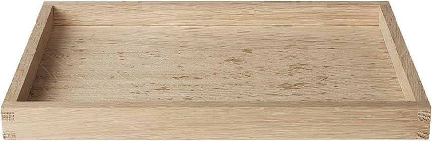 Eiche 63799 B 20 cm T 30 cm H 2.5 cm blomus BORDA Tablett
