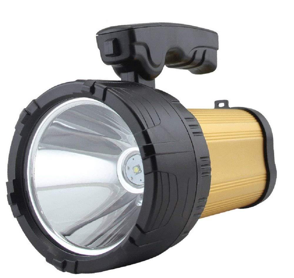 Taschenlampe High Power LED-Scheinwerfer 2500lm wiederaufladbare Außenstrahler super helle 10W CREE T6 LED-Taschenlampe Long Shot 8000 mAh Energienbank 3 Modi wasserdichte Strahl Taschenlampe Camping