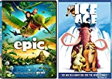 Ice Ace & Epic Cartoons from the creators of Ice Age DVD Animated Set