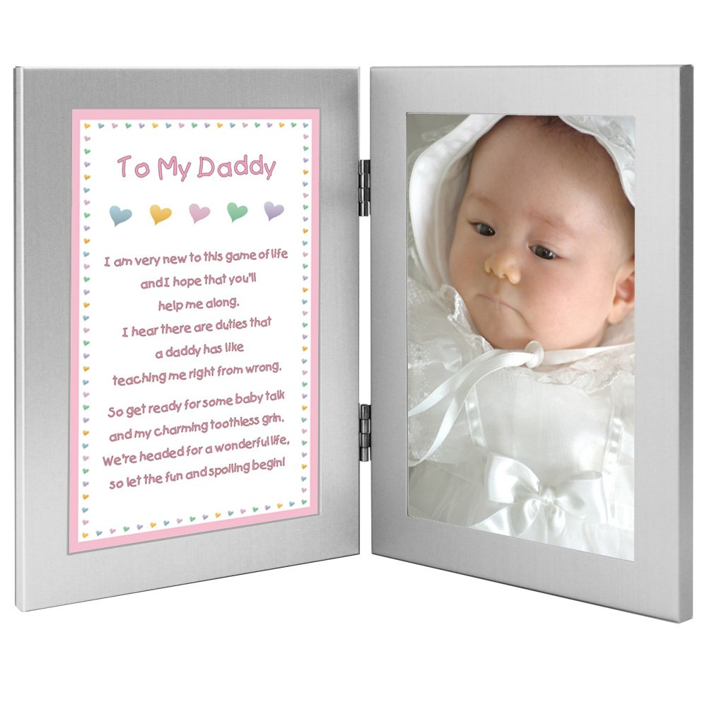 Fathers Day Or for Dads Birthday Add Photo Newborn Baby Girl to Daddy Gift When She is Born