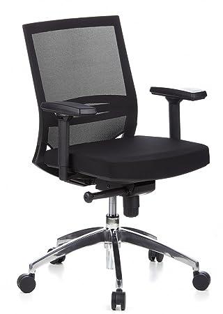 Hjh OFFICE 657235 Chaise De Bureau PORTO PRO Noir Siege Grande