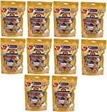 Smokehouse USA Prime Chips Chicken & Beef 10 lb (10x16oz Bag)