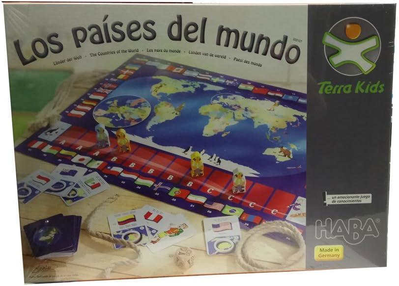 HABA- Terra Kids, Los países del Mundo (303107): Amazon.es: Juguetes y juegos