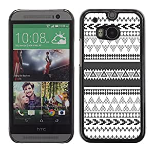 Graphic4You COLORFUL TRIBAL PATTERN HARD CASE COVER FOR HTC One (M8) by ruishername