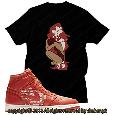 68b54a23f29ce9 Custom T Shirt Matching Air Jordan 1 Retro High OG Olive Canvas JD 1 ...