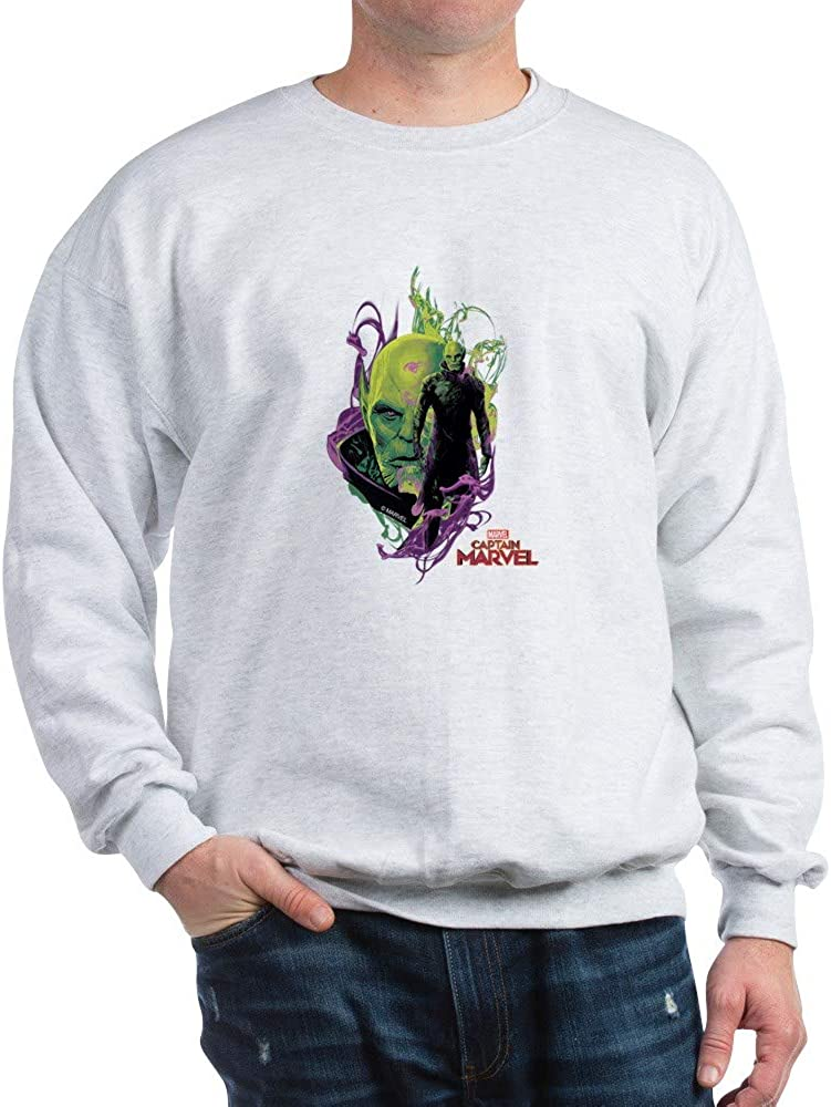 CafePress Captain Marvel Talos Skrull Leader Sweatshirt 61Ur-AJTOfL
