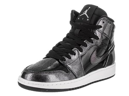 Nike 705300-017, Zapatillas de Baloncesto para Niños, Negro Black White, 38.5