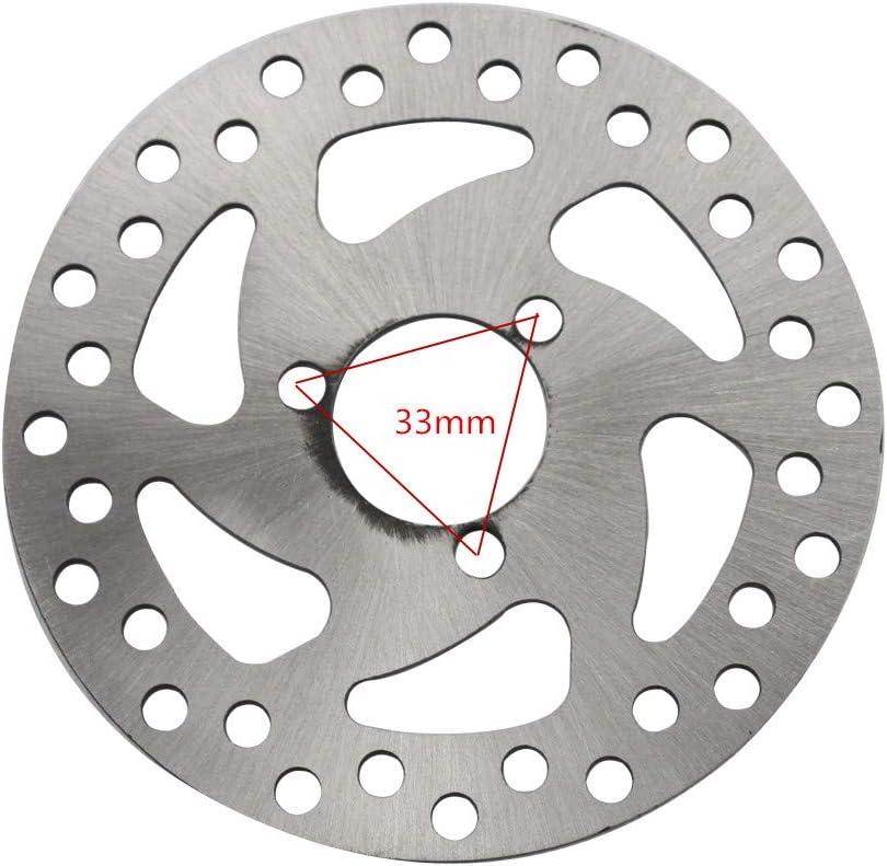 GOOFIT Disc Brake Plate for 47cc 49cc 2-stroke Pocket Bike