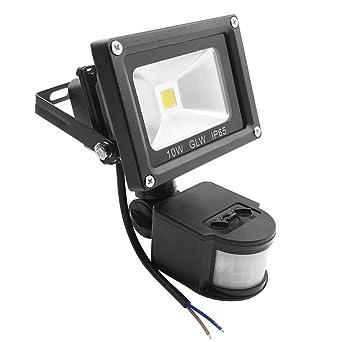 Glw 10w led motion sensor light 12v ac or dc 800lm pir indoor glw 10w led motion sensor light 12v ac or dc 800lm pir indoor security floodlight workwithnaturefo