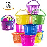 Toys : Prextex Easter Eggs Basket Great for Easter Egg Hunts and Easter Eggs Festival Easter Baskets