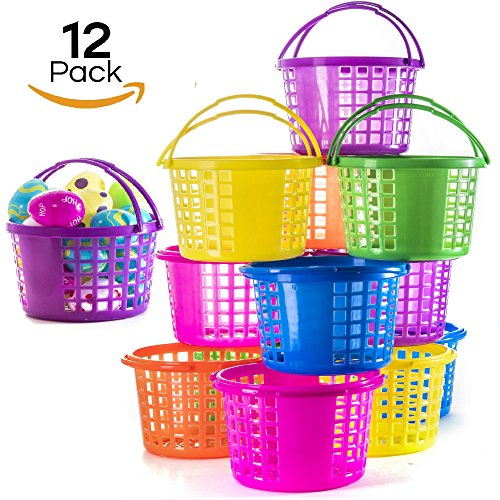 Prextex Easter Eggs Basket Great for Easter Egg Hunts and Easter Eggs Festival Easter Baskets Easter Egg Hunt Pictures