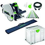 Festool Sega – TS 55 rebq Plus FS – N. 561580 + Guida + Systainer + Custodia