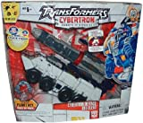 Transformers Year 2005 Cybertron Series Ultra Class 9 Inch Tall Robot Action Figure - Cybertron Defense Red Alert with Missile Launcher, Extendible Repair Arm with Interchangeable Tools and Cyber Planet Key (Vehicle Mode : Armoured Personnel Carrier with Missile Launcher)