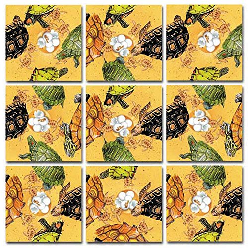 Dazzle Scramble Square Puzzles - B.Dazzle Scramble Squares: Turtles