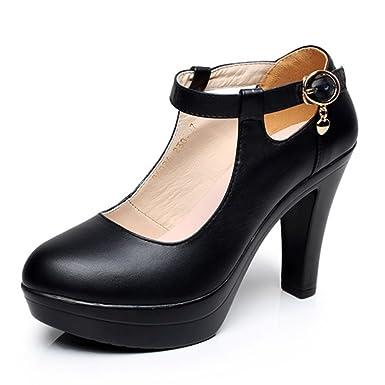 f3543d242c Women's Shoes Elegant Extreme Heel Platform Platform Heels Work Shoes For  Ladies Club Mary Jane Pumps