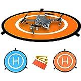 BlueBeach® 折り畳み式 無人機 着陸パッド ポータブル 防水 表裏両用 ドローン用ランディングパッド DJI Phantom 2 3 4 Pro/Inspire 1 2/Mavic Air/Mavic Pro/Spark/Syma/Parrot/Hubsan 用