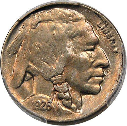 Ms62 Nickels (1926 D Buffalo Nickels Nickel MS62 PCGS)