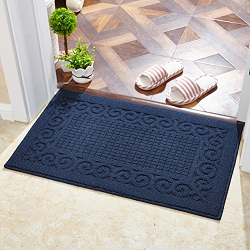 Echaprey Rectangle Non-Slip Kitchen Bathroom Toilet Doormat Floor Rug Mat Keeps Your Floors Clean Home Decor (Large, ()