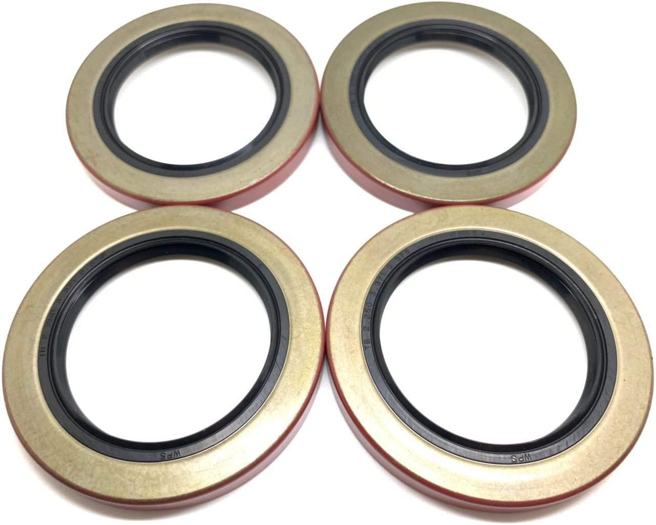for 5200-7000# Trailer Axles Pack of 4 WPS Trailer Hub Wheel Grease Seal 10-36 2.250 I.D 22333TB