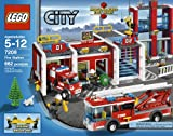 LEGO-City-Fire-Station-7208