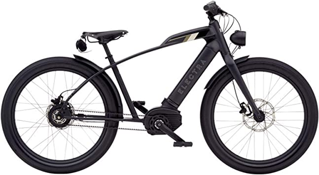 ELECTRA Cafe Moto GO! Bicicleta eléctrica, Color Negro, 26 ...