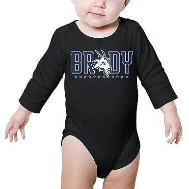 8a9454ce995 Amazon.com  Boy Girls Romper Bodysuit for Newborn Baby Onesies ...