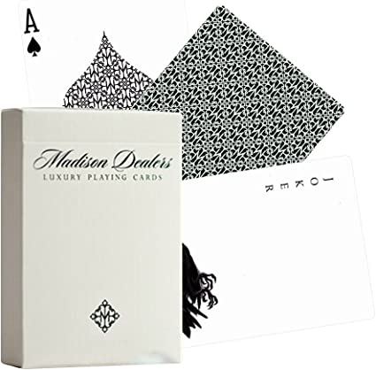 Green Madison Dealers Playing Cards by Ellusionist