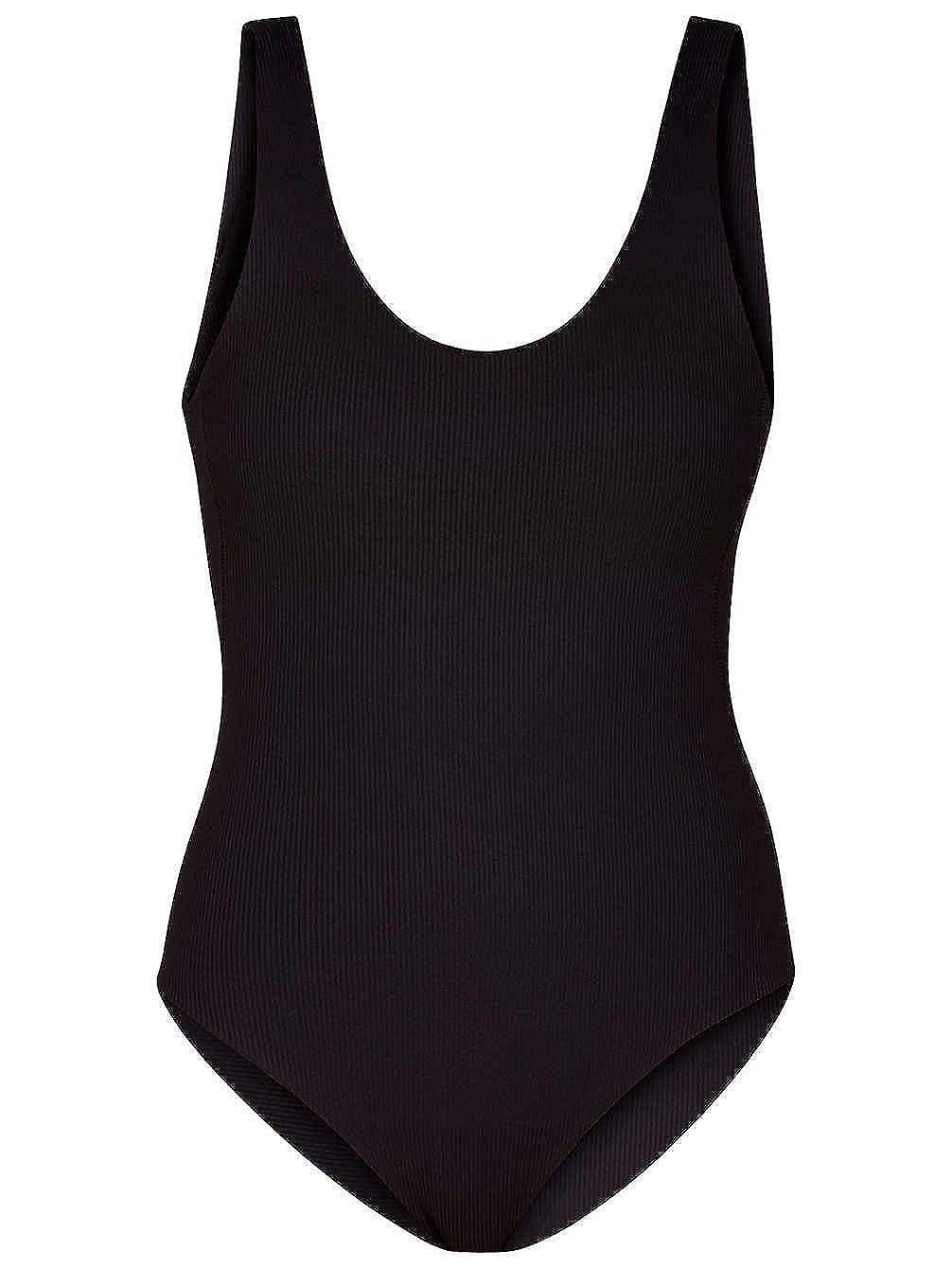 9d623edf7c Hurley Women s Quick Dry Block Party Hybrid Swimsuit Bodysuit at Amazon Women s  Clothing store