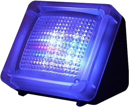 allezola Fake Simulador de televisor TV Fake TV parpadeo luz visual de seguridad para el hogar ladrón intruso Disuasión: Amazon.es: Hogar