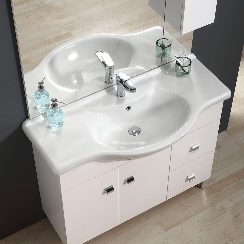 Installations salles de bain MOBILE BAGNO 106 CM CLASSICO ...