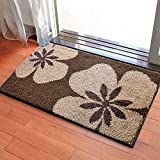 Door mat door mat door bathrooms in the Hall toilet bathroom mat absorbent bathroom mat rug mat Brown fragrance