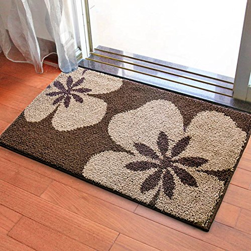 Door mat door mat door bathrooms in the Hall toilet bathroom mat absorbent bathroom mat rug mat Brown fragrance by ZYZX