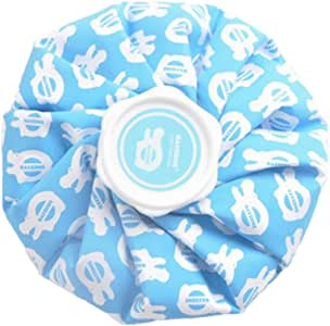 """D DOLITY Reusable First Aid Injury Treatment Ice Pack Cold Cap Bag Pain Relief 9"""""""