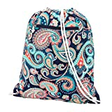 emerson traveler - Backpack Style Drawstring School Gym Bag - Emerson Paisley