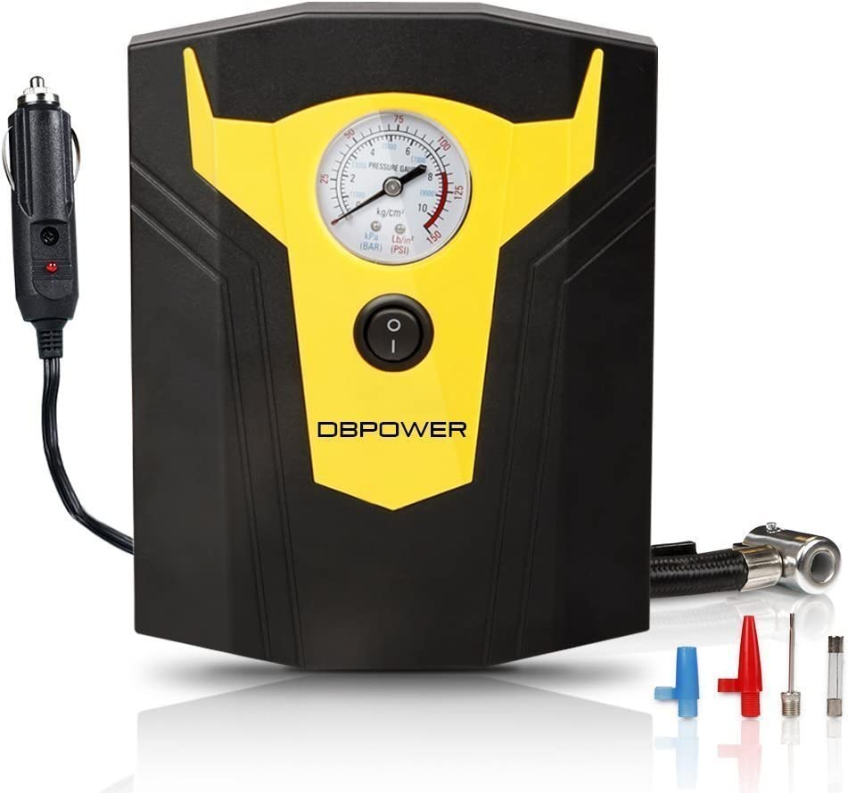 150 PSI DBPOWER Air Pump for 12 Volt Outlets