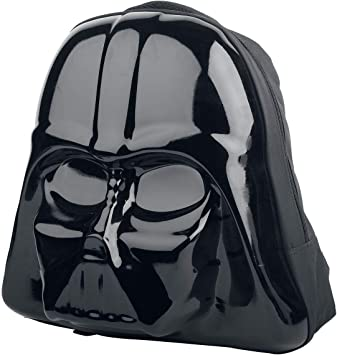 Officially Licensed Star Wars 3D Shaped Darth Vader Character Hard Backpack