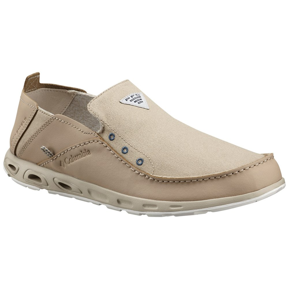 Columbia Men's Bahama Vent PFG Loafer, Ancient Fossil, 10.5 D(M) US